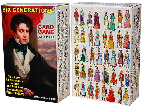 SIX GENERATIONS CARD GAME